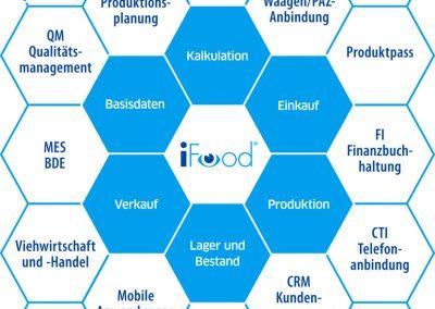 Das Wabenmodell von iFood 2.0
